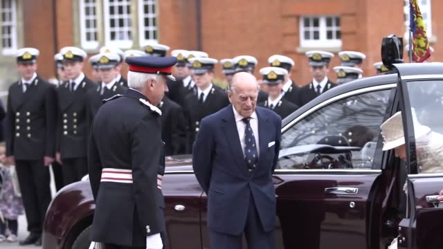 The Duke of Edinburgh will join the Queen when she visits a school to mark its centenary his latest public engagement since announcing his retirement...