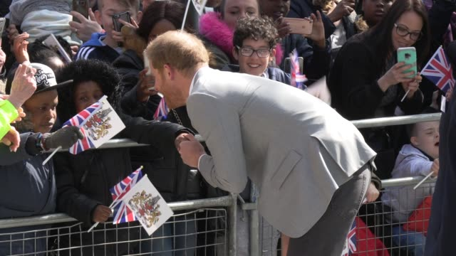 GBR: The Duke of Sussex opens Future  Youth Zone in Barking and Dagenham