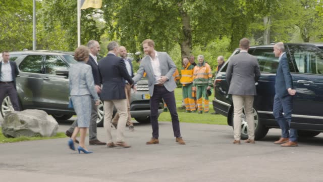 NLD: The Duke of Sussex visits The Netherlands