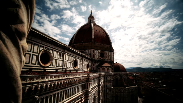 the duomo cathedral, florence, italy - florence stock videos and b-roll footage