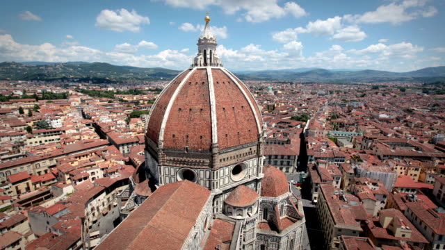 the duomo cathedral, florence, italy - duomo santa maria del fiore stock videos and b-roll footage