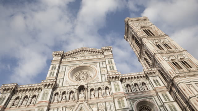 the duomo in florence, tuscany, italy. - fiore stock videos & royalty-free footage