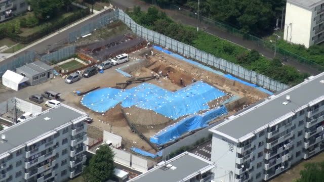 "the earliest part of legendary ""golden castle"" built in southern kyoto in late 16th century by powerful warlord toyotomi hideyoshi was unearthed, a... - 16 17 years stock videos & royalty-free footage"
