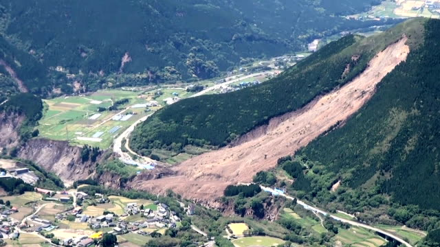 The earthquakes in Kumamoto Prefecture have had a geological impact including in Mashiki MinamiAso and the top of the Nekodake peakVideo was shot on...