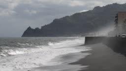 the east coast of Sicily