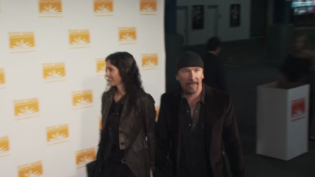 The Edge and guest at the Food Bank for New York City's 8th Annual CanDo Awards Dinner at New York NY