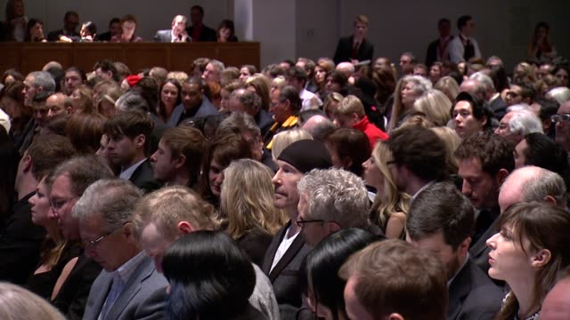 the edge at jony and marc's auction at sotheby's on in new york city - versteigerung stock-videos und b-roll-filmmaterial