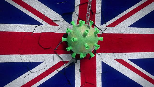 the effect of virus on england - 4k resolution - money politics stock videos & royalty-free footage