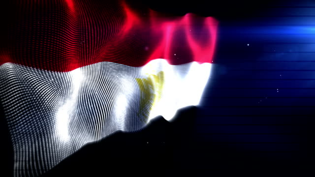The Egyptian Flag - Background Loop (Full HD)