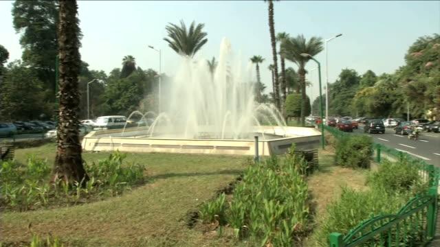 vídeos y material grabado en eventos de stock de the egyptian government decided to reopen alnahda square egypt cairo project to develop alnahda square on september 29 2013 in cairo egypt - ceremonia de reapertura