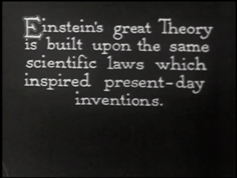 the einstein theory of relativity - 3 of 29 - altri spezzoni di questa ripresa 2275 video stock e b–roll