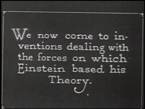 the einstein theory of relativity - 7 of 29 - altri spezzoni di questa ripresa 2275 video stock e b–roll