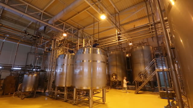 the ekonivaapk dairy farm operated by ekosemagrar gmbh in ulanovo village near kaluga kaluga oblast russia on tuesday august 20 2019 - milk bottle stock videos & royalty-free footage