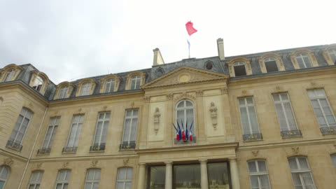 vidéos et rushes de the elysee palace - politique