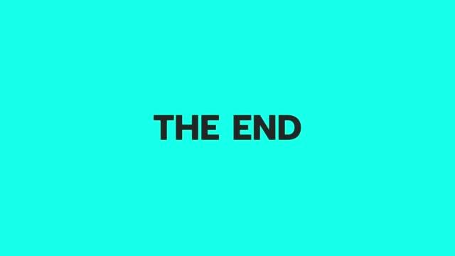 エンドベクトルアニメーション - 終わり点の映像素材/bロール