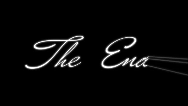 the end #2 - the end stock videos & royalty-free footage
