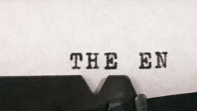 the end - the end stock videos & royalty-free footage