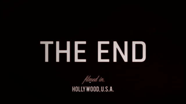 vídeos de stock e filmes b-roll de the end - fim