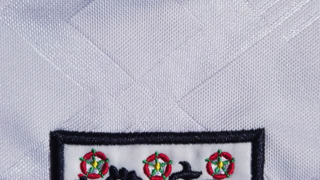 the england crest on their home shirt on may 28 2020 in manchester england - big cat stock videos & royalty-free footage