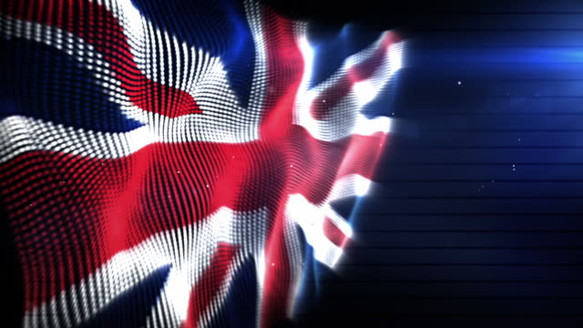 The English Flag - Background Loop (Full HD)