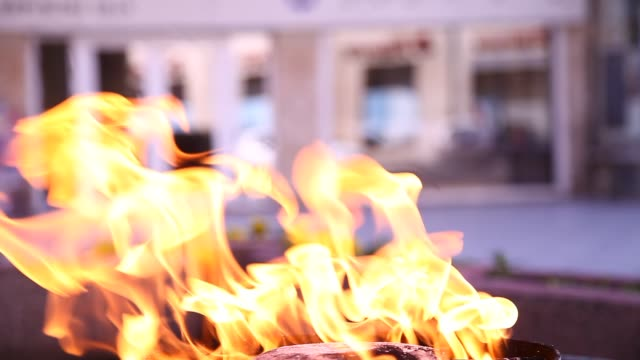 The Eternal flame in Sarajevo