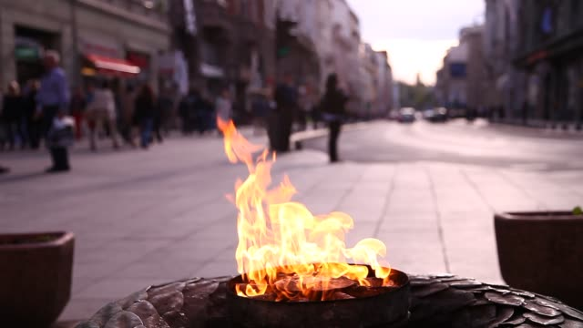 The Eternal flame in Sarajevo