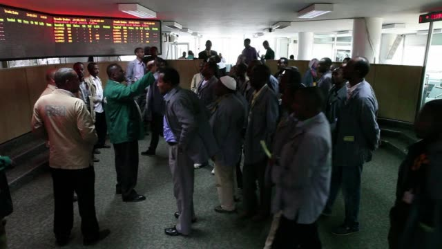 stockvideo's en b-roll-footage met the ethiopia commodities exchange is the first exchange of its kind in africa with the ambitious aim of creating wealth while minimizing risk for the... - hoorn van afrika