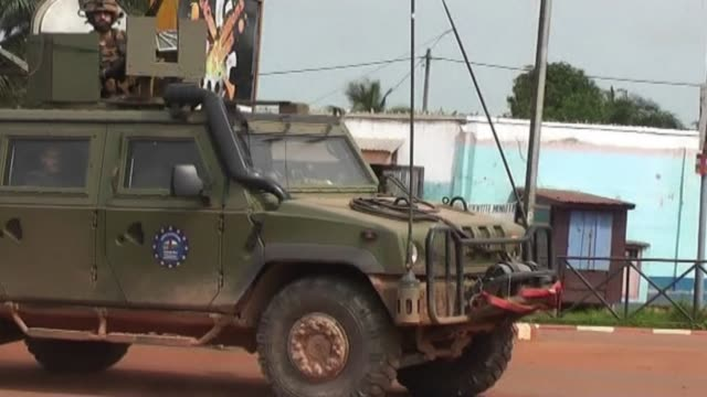 the eurof rca forces in the central african republic say they are making progress five months after their arrival in the troubled country - rca stock videos & royalty-free footage