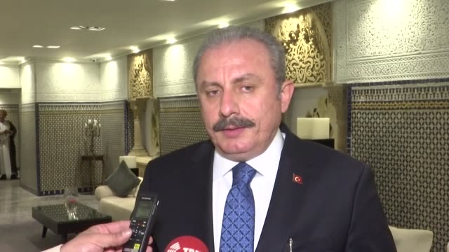 """the european parliament report passed this week urging the suspension of turkey's eu accession process was prepared under the helm of """"racist and... - parliament building stock videos & royalty-free footage"""
