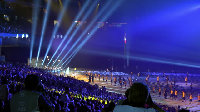 The event major performer was Cirque du Soleil which faced his largest and most complicated production The Rogers Centre had a sold out crowd The...