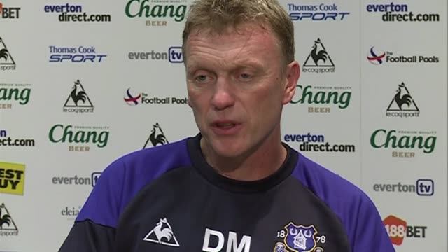 The Everton manager talks about recent signings Denis Stracqualursi and Royston Ricky Drenthe David Moyes on Stracqualursi and Drenthe at Goodison...