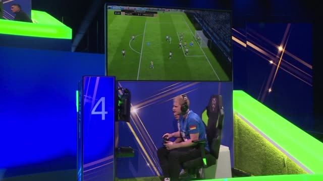 the eworld cup final that brings together 32 of the world's top fifa 18 players starts in london and runs until saturday with the winner set to... - fifa stock videos & royalty-free footage