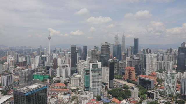 the exchange 106 tower, southeast asia's tallest skyscraper in kuala lumpur, malaysia on wednesday, october 23, 2019. - kuala lumpur stock videos & royalty-free footage