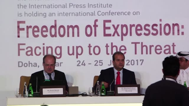 The executive director of Human Rights Watch Kenneth Roth said at a conference on media freedom in Doha Monday that the current tensions between...
