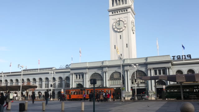 The exterior of the Ferry Building in downtown San Francisco.