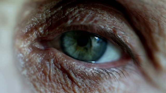 the eye - wrinkled stock videos and b-roll footage