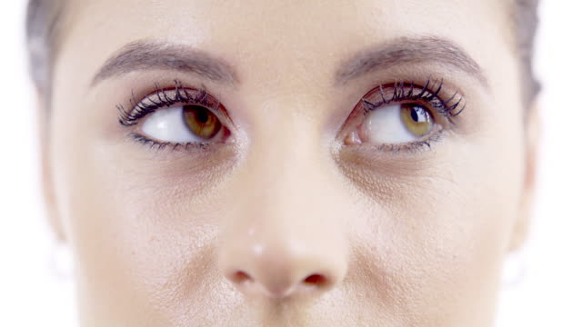 the eyes have their own language - uncertainty stock videos & royalty-free footage