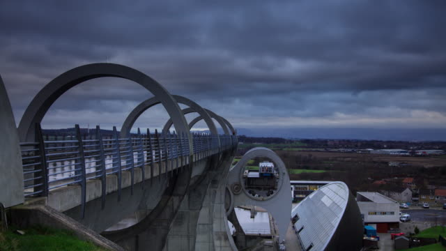 The Falkirk Wheel - Time Lapse