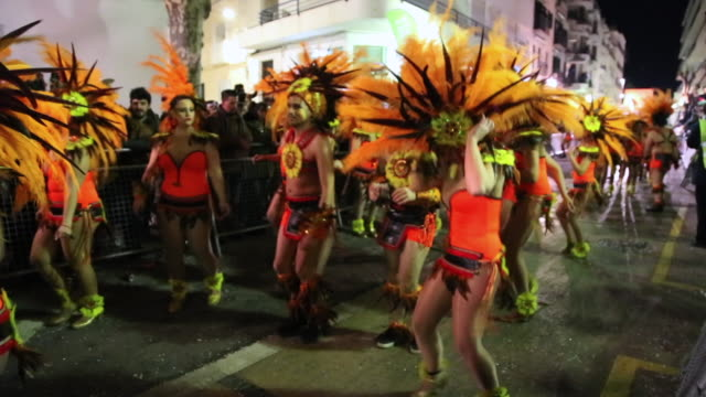 The famous carnival parade in Sitges is one of the most important of Catalonia for tradition and the large amount of people dancing in the colorful...