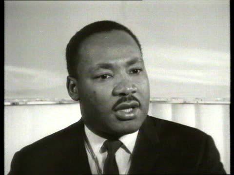 The Famous Faces collection TX Martin LutherKing interviewed on racial violence in the US London Civil rights activist Martin LutherKing interviewed...