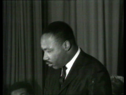 the famous faces collection tx martin lutherking makes speech on 'the dignity of the negro' martin lutherking speech on the rights of black americans... - respect stock videos & royalty-free footage