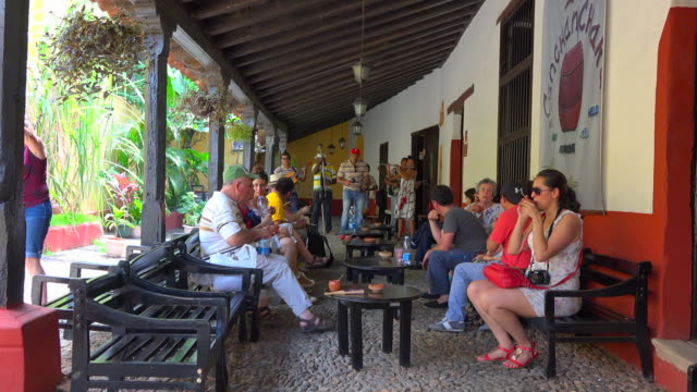 The famous place serves a cocktail that comes from the independence wars on the island It is called 'Canchanchara' and it is made of rum honey and...