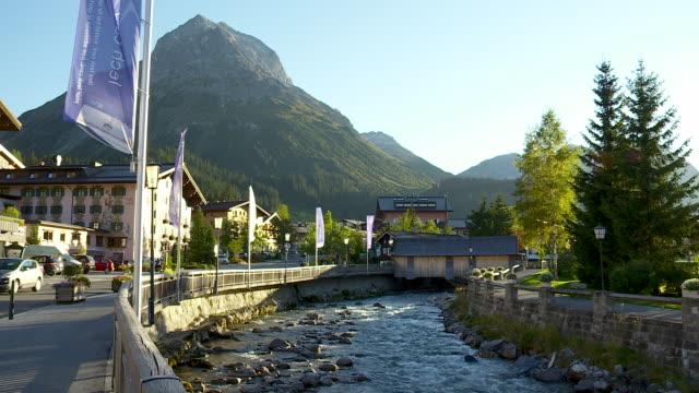 The famous village of Lech in Austria