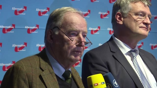The far right Alternative for Germany elects a new leadership duo from its nationalist wing after the party's triumphant turnout in September's...