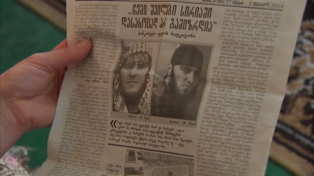 the father of an isis commander has told sky news that his son felt rejected by his country when he left to fight jihad with his distinctive red... - isil conflict stock videos & royalty-free footage