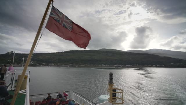 the ferry crossing from the island of mull to oban - pilgrimage stock videos & royalty-free footage