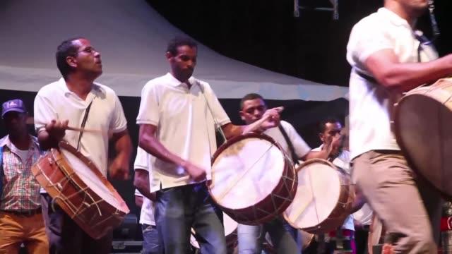 vídeos y material grabado en eventos de stock de the fifth edition of the atlantic music expo opens in the presence of the cape verdean president - cabo verde