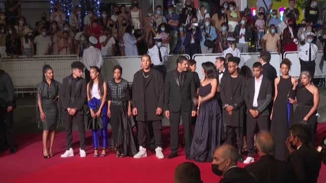 FRA: Cannes: 'Casablanca Beats' film crew on the red carpet