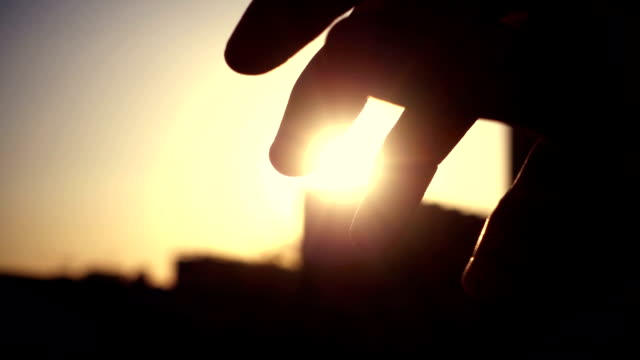 the fingers feel the sunshine - concentric stock videos & royalty-free footage