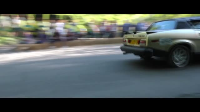 the firle hill climb is an historic car race which was revived in 2015 and is held annually; organised by the bo peep drivers club. money raised by... - elegance stock videos & royalty-free footage
